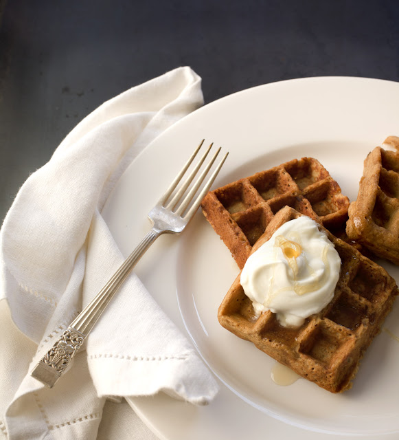 Breakfast with the Brinsons: Wholesome Banana Waffles Sweetened with Molasses
