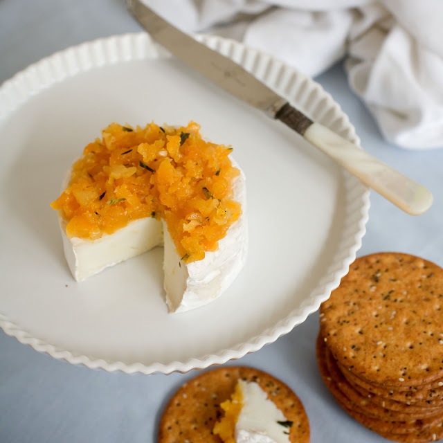 {Day 11} Apricot Tapenade With Rosemary