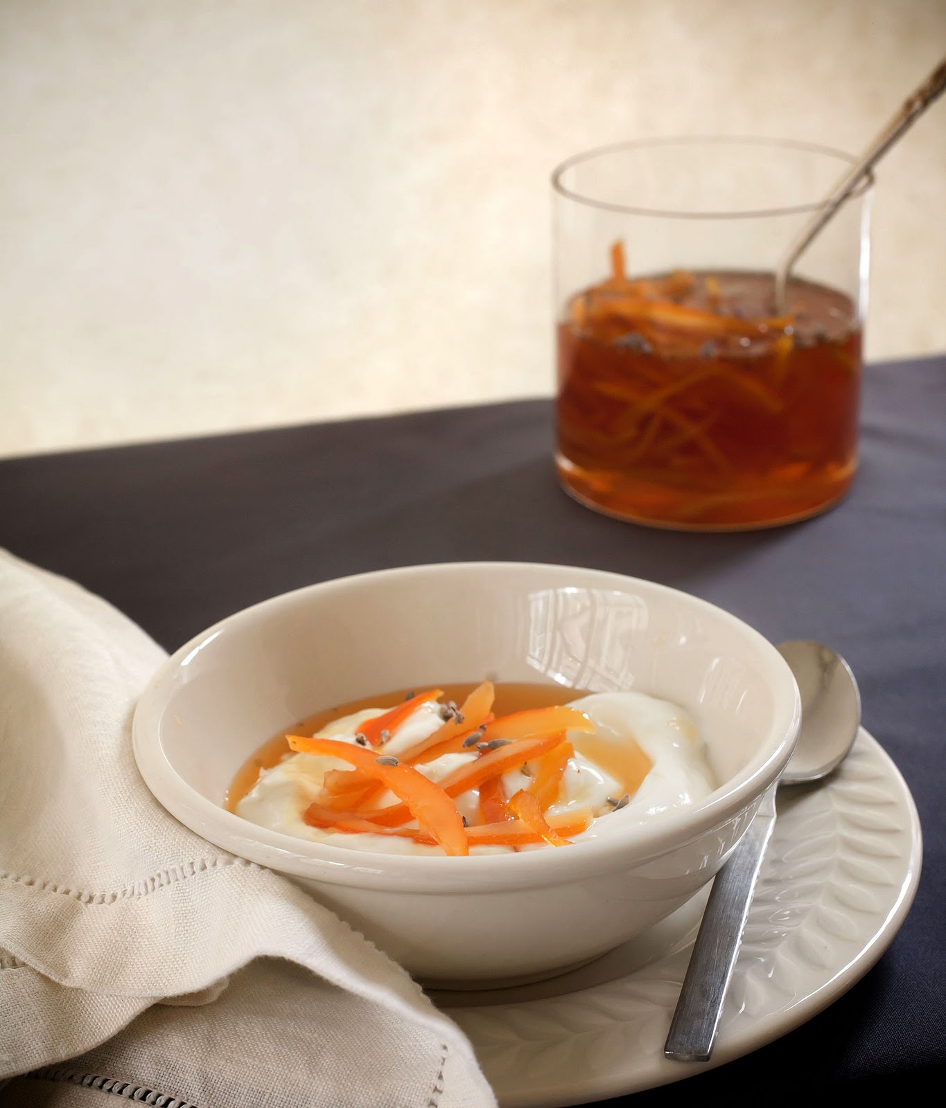 Oranges With Lavender And Mint Recipe — Dishmaps