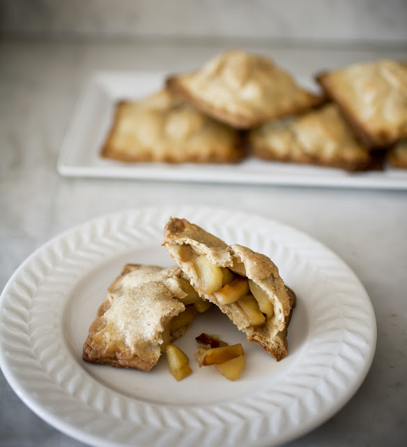 Mapled Apple Hand Pies In a Brown Butter and Smoked Almond Crust
