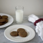 ginger snaps, molasses snaps, cookies, holiday cookies
