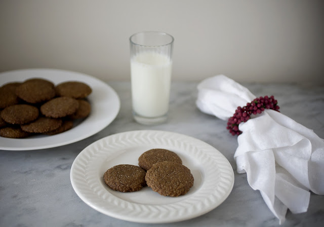 Molasses Crisp Cookies and Some Holiday Baking Tips