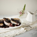 pork chop, winter fruit sauce, fruit sauce