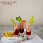 Bloody Mary Shrimp Cocktail ~ A Stack of Dishes