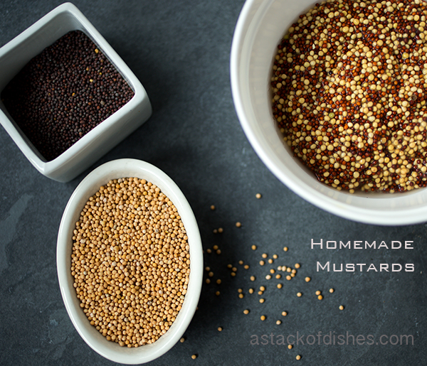 Homemade Mustard~ A Stack of Dishes.com