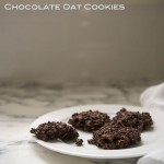 Chocolate Oat Cookies~A stack of dishes.com
