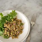 sorghum salad~A Stack of Dishes.com