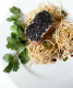 Seared Tuna with Coriander Mint Noodles