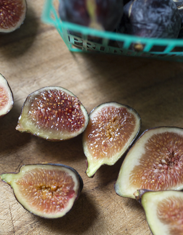 Sliced Figs - A Stack of Dishes