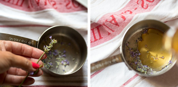 Making Lavender Honey - A Stack of Dishes