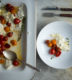 Warm Roasted Tomato Fresh Mozzarella Salad
