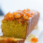 Olive Oil Polenta Cake- A Stack of Dishes
